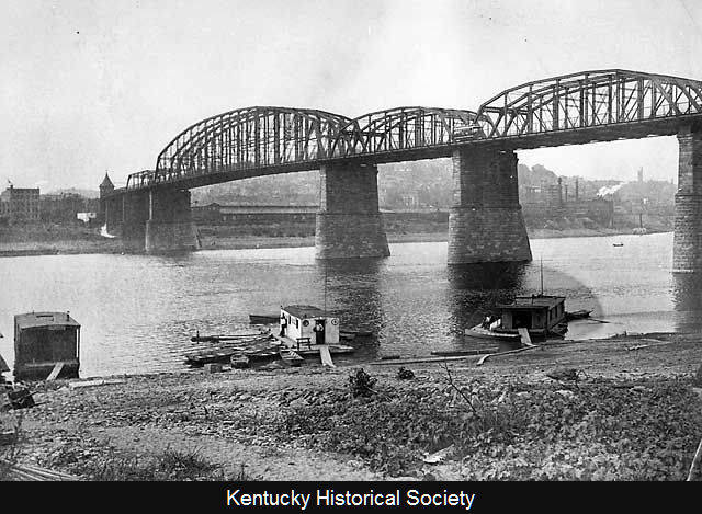 L&N Railroad Bridge between Newport and Cincinnati