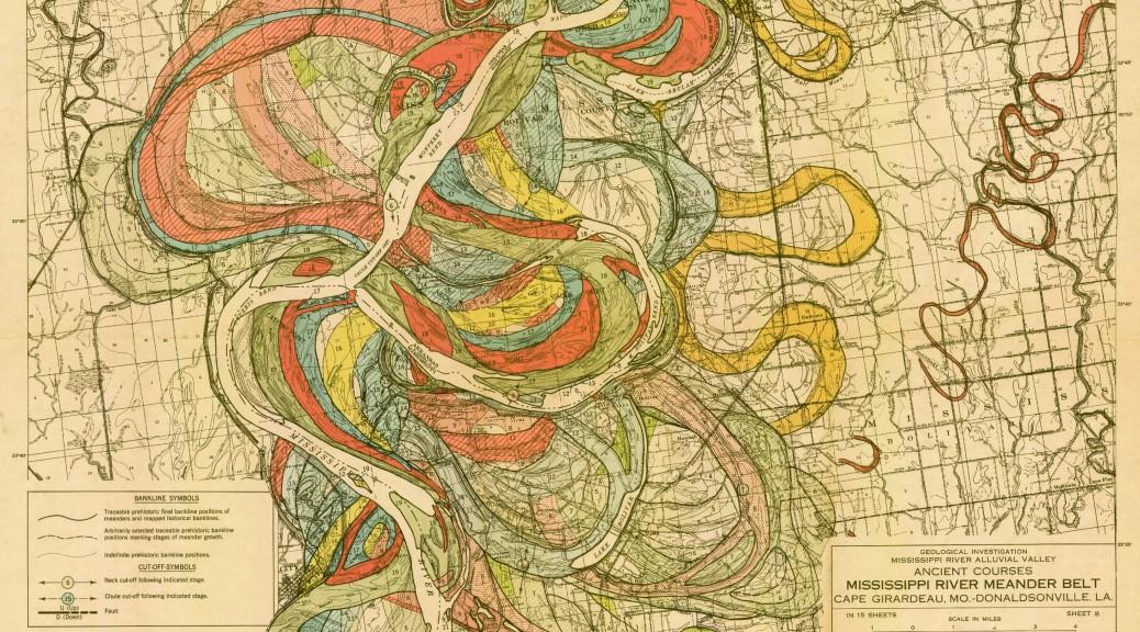 harold-fisk-1944-mississippi-river-meander-alluvial-floodplain-map