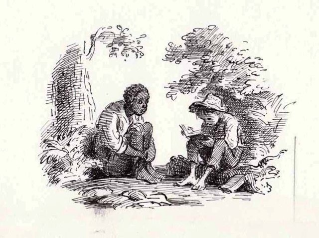the conflicts faced by huckleberry finn Adventures of huckleberry finn  choose one of the conflicts of the novel and discuss how mark twain utilizes them in the book  and the consequences that huck .