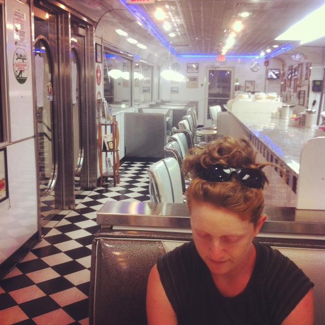 kai in the diner