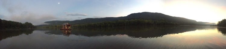 browns lake pano