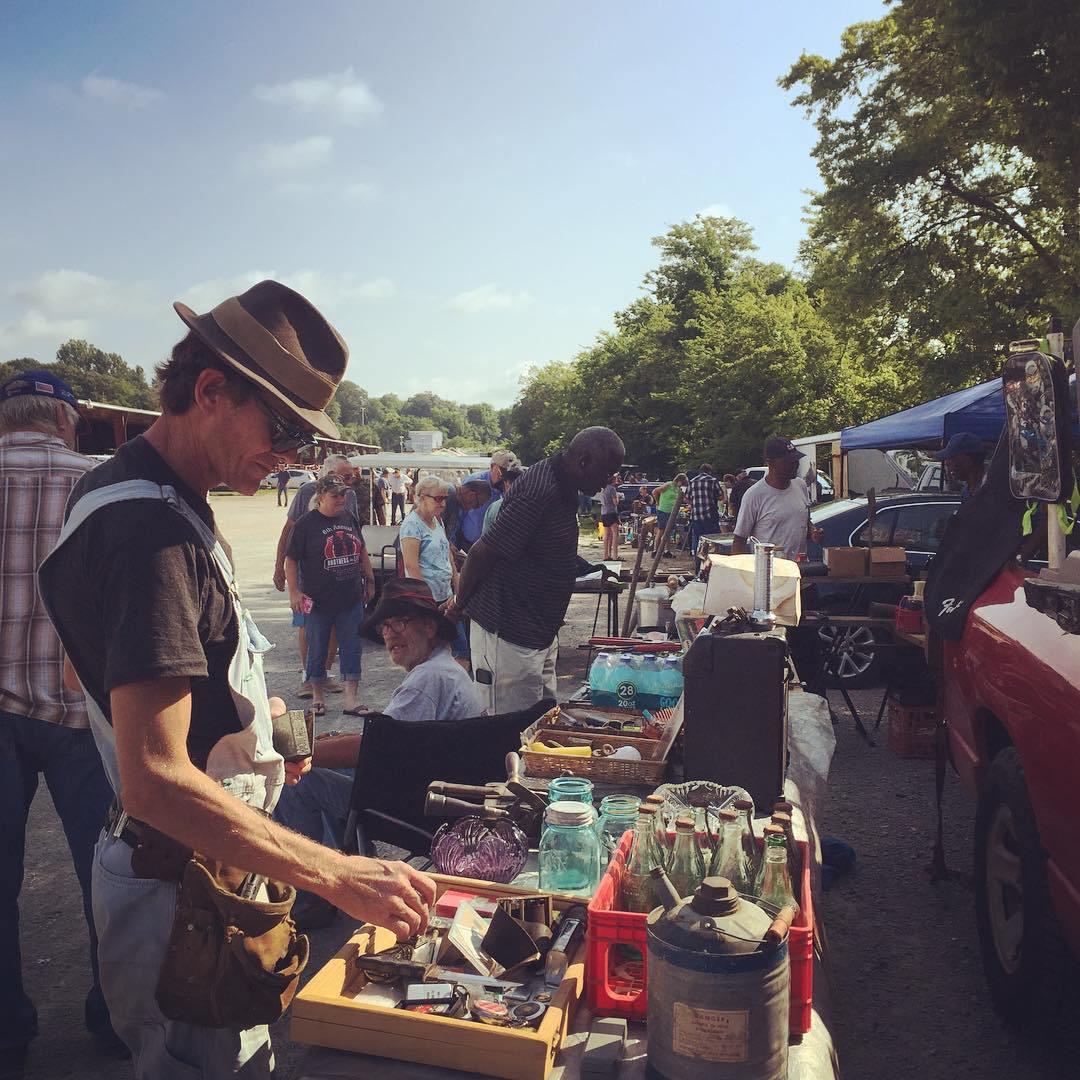Butch takes us to the Secret Tuesday Florence Flea Market