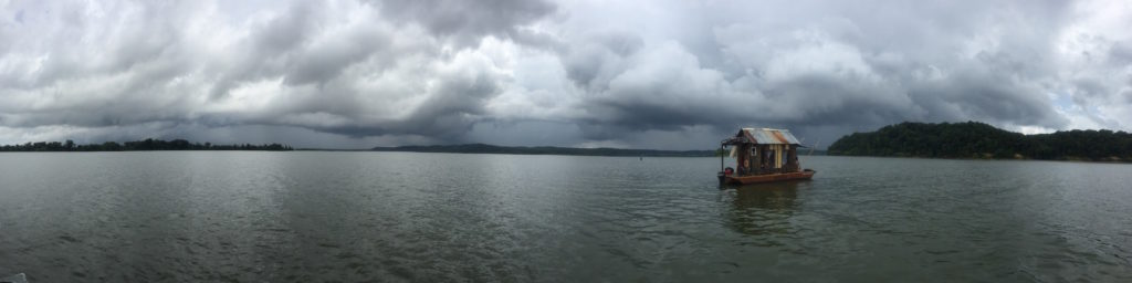 shantyboat stormy skies pano