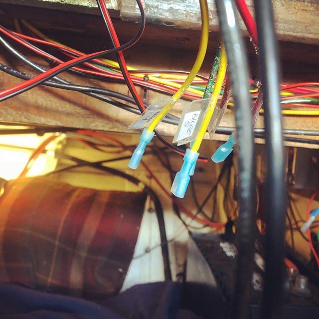 Shantyboat wiring. Oh god