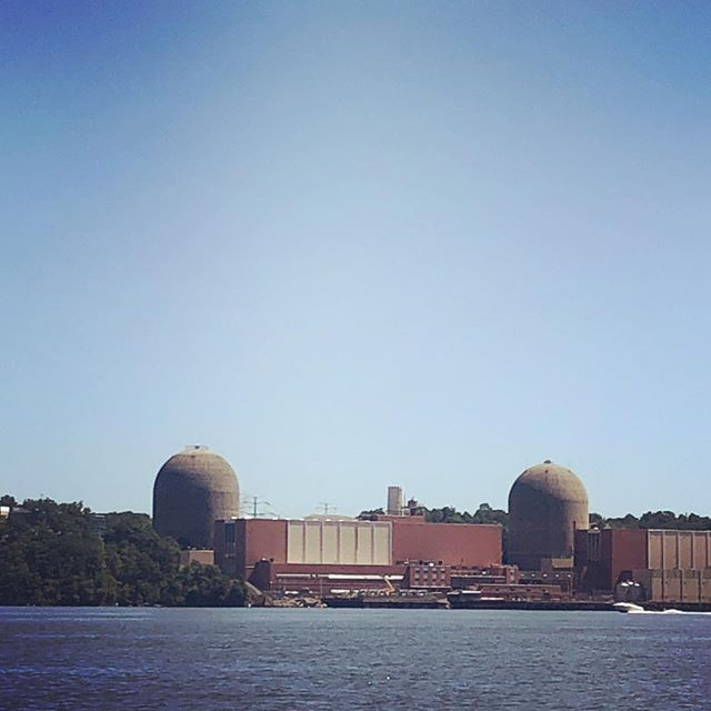 Indian Point Energy Center is a three-unit nuclear power plant station located in Buchanan, New York, just south of Peekskill. It sits on the east bank of the Hudson River, about 36 miles north of Midtown Manhattan. #shantyboat