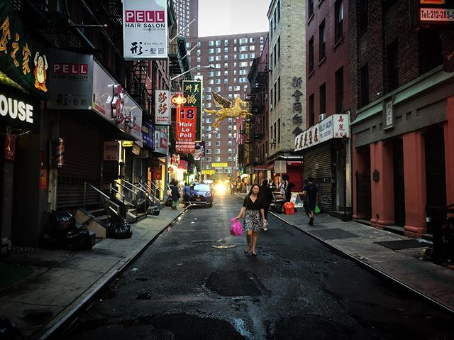 NYC Chinatown feels very welcoming and very Blade Runner. #shantyboat #nyc #chinatown