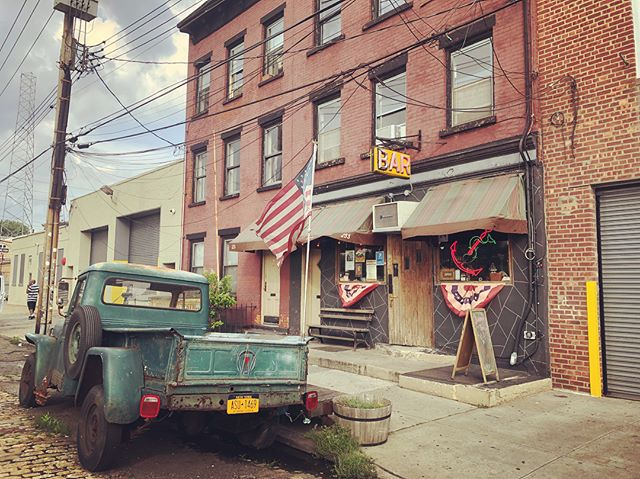 Sunny's Bar in Red Hook, Brooklyn dive bar on the outside, dearly loved tavern inside #shantyboat #eastriver #divebar #redhook #brooklyn #nyc